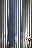 Metal panels wall Stock Image