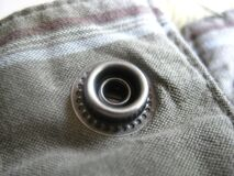 metal-pants-button Royalty Free Stock Photo