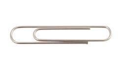 Metal paper clip Stock Image