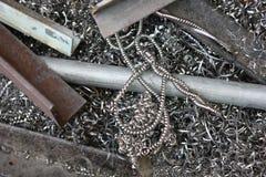 Metal para recicl imagens de stock