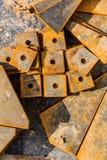 Metal parts Stock Photos