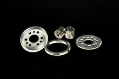 Metal parts Stock Image