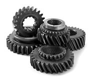 Metal parts gear Stock Images