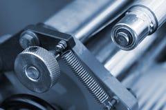 Metal parts of the mechanism Stock Photos
