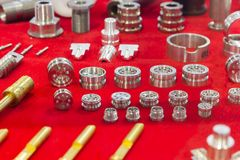metal parts for  tooling Stock Image