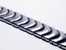 metal pasy zegarek fotografia stock