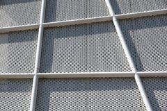 Metal Pattern Architecture details Facade Metal Geometric Structure.  stock photos
