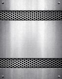 Metal pattern background Stock Image
