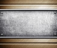 Metal pattern background Royalty Free Stock Photo