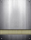 Metal pattern background Royalty Free Stock Images