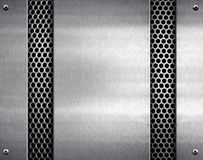 Metal pattern background Royalty Free Stock Photography