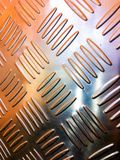 Metal pattern background. Colorful metal pattern for background stock images