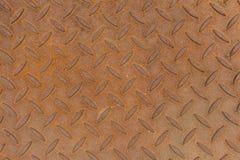 Metal pattern. Old rusty brown metal style Royalty Free Stock Photo