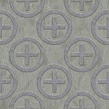 Metal pattern. Seamless texture Stock Images