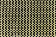 Metal with perforated holes Stock Photos