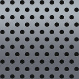 Metal with perforation royalty free stock photos