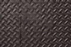 Metal pesado Diamond Plate Abstract Texture Background preto Imagem de Stock