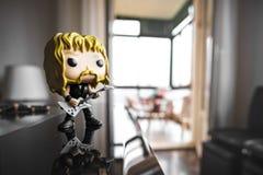 Metal pesado do líder do guitarrista de James Hetfield do boneco de ação do PNF de Metallica Funko Fotografia de Stock