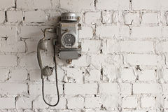 Metal phone Royalty Free Stock Photography