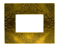 Metal photo frame Stock Photography