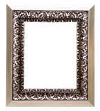 Metal picture frame Royalty Free Stock Photography