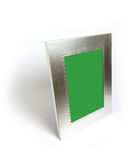 Metal picture frame Stock Images