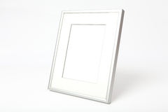 Metal Picture Frame clipping paths Stock Photo
