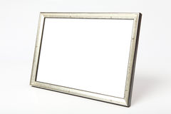 Metal Picture Frame clipping paths Stock Photos
