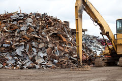 Metal pile Royalty Free Stock Images