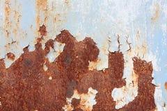 Metal pintado azul Fotos de Stock