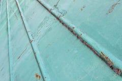 Metal pintado viejo verde retro Fondo verde abstracto Fotografía de archivo