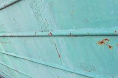 Metal pintado viejo verde retro Fondo verde abstracto Imágenes de archivo libres de regalías