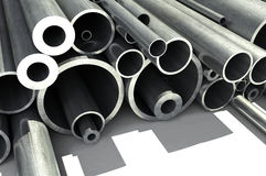 Metal pipe Stock Photos