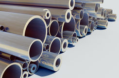 Metal pipe Royalty Free Stock Photography