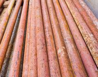 Metal pipe Royalty Free Stock Photos