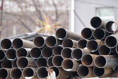 Metal pipe Royalty Free Stock Photos