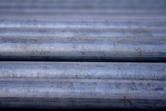 Metal pipe - close-up Stock Images