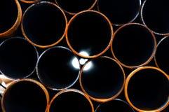 Metal pipes Royalty Free Stock Photos
