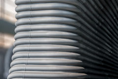Metal pipes background Royalty Free Stock Photos