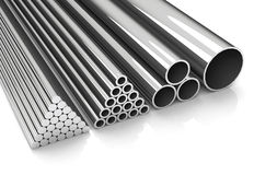 Metal pipes Royalty Free Stock Photography