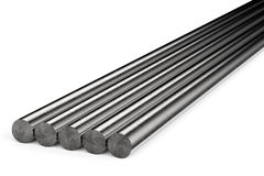 Metal pipes Stock Images