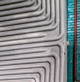 Metal pipes industry Stock Photos