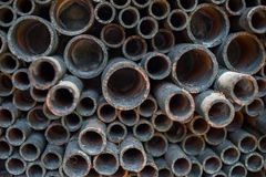 Metal pipes Royalty Free Stock Images