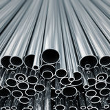 Metal pipes. Royalty Free Stock Photography