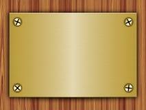 Metal plate Royalty Free Stock Image