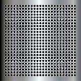 Metal plate Stock Image