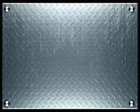 Metal plate Royalty Free Stock Photography