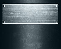 Metal plate. Polished metal plate steel background