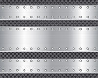 Metal plate 2. Metal plate steel texture background Royalty Free Stock Photography