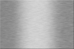 Metal plate. Series: blank. With room for text Royalty Free Stock Images
